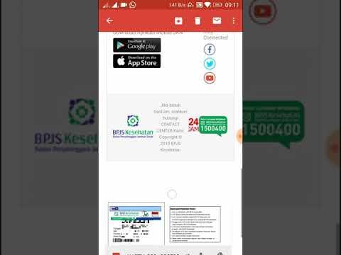 Cara mencetak kartu bpjs sendiri menggunakan handphone