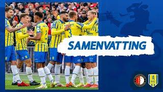 RKC knokt zich naar gelijkspel in De Kuip | Samenvatting Feyenoord - RKC Waalwijk (21/22)