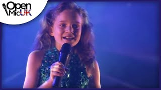 LET IT GO - IDINA MENZEL performed by SAPPHIRE at Open Mic UK singing competition Grand Final