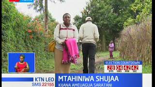 Kibarua ya familia ya mtahiniwa wa shule ya upili ya Sachangwan Emmanuel Kikemoi