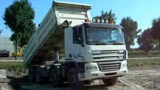 DAF CF 85.480 Unloading - Italy 2008