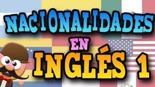 NACIONALIDADES EN INGLÉS 01   APRENDE INGLÉS CON MR PEA ENGLISH FOR KIDS