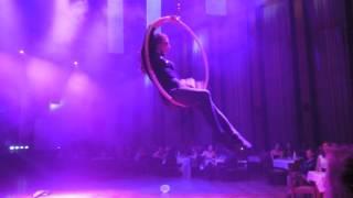 Vzdušná akrobacie na kruhu - Alžběta Moravcová