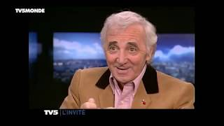 "Charles AZNAVOUR : ""Ma vie, mes emmerdes"""