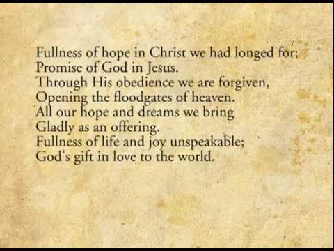 Fullness Of Grace - Keith & Kristyn Getty