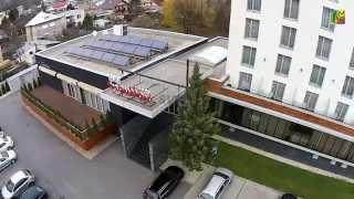 preview picture of video 'Hotel Mousson a pohľad na Michalovce'