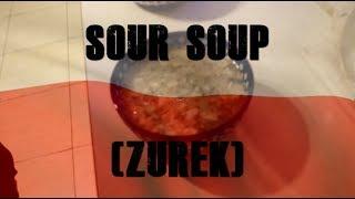 Delicious Polish Sour Soup (Żurek)