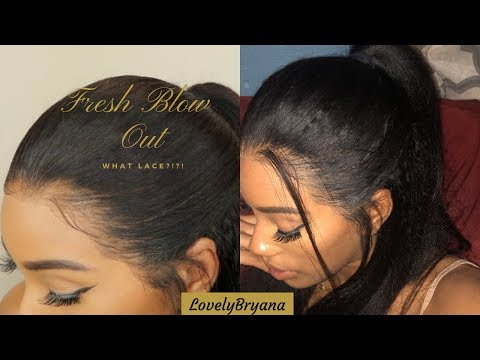 Lace Where? How to Melt Lace Into your Skin w/Kinky Straight 360 Wig ft OMG Queen Hair