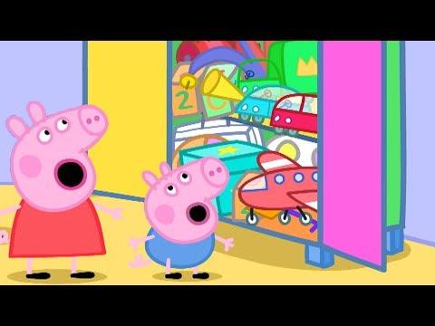 Peppa Pig en Español - Caja de juguetes Peppa Pig! - Pepa la cerdita