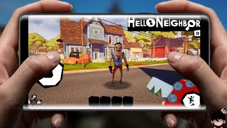 BOMBA! HELLO NEIGHBOR MOBILE OFICIAL PARA ANDROID DOWNLOAD