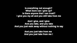 Eminem - Take From Me ft. Royce Da 5'9 (w/LYRICS) HD