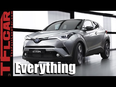 2017 Toyota C-HR : Everything You Ever Wanted to Know