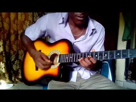 How to play Femi Orun makossa Guitar Line