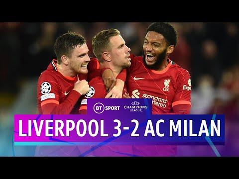 Liverpool vs Milan</a> 2021-09-15