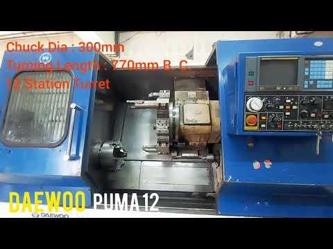 Used Cnc Turning Machine Daewoo Puma