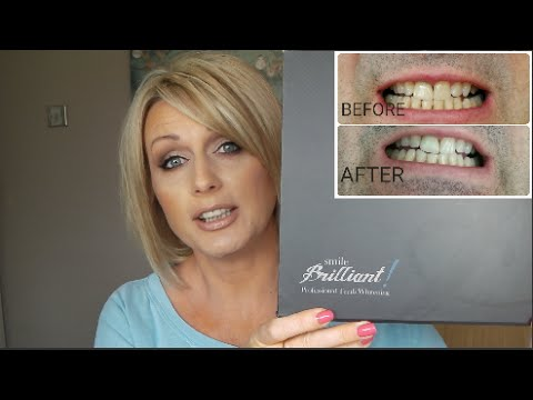 PROFESSIONAL TEETH WHITENING AT HOME WITH SMILE BRILLIANT