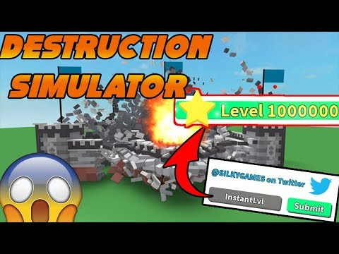 Destruction Simulator Codes 2019 List