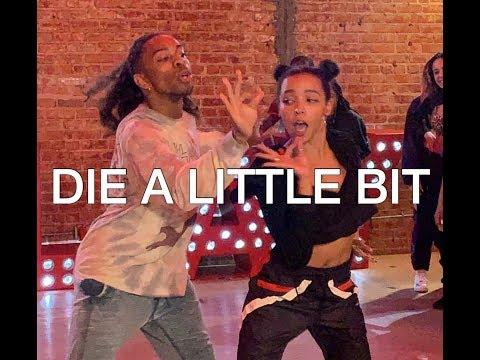 """DIE A LITTLE BIT"" TINASHE & MS BANKS #DEXTERCARRCHOREOGRAPHY FEAT. TINASHE, KAYCEE RICE, KK HARRIS"