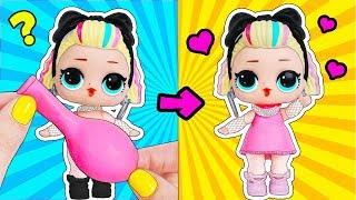 10 ЛАЙФХАКОВ с КУКЛАМИ ЛОЛ Сюрприз, которые ЗАСТАВЯТ вас СКАЗАТЬ ВАУ! LOL Surprise toy video