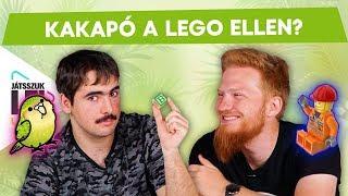 KAKAPÓ a LEGO ellen??? Walrusz és Sirius a Csúcsjátszma játékban | Játsszuk le!