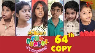 Fun Bucket JUNIORS | Episode 64 | Comedy Web Series | By Sai Teja - TeluguOne