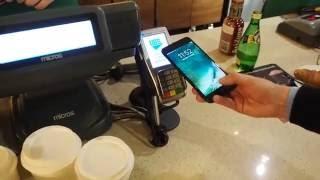Первая транзакция Apple Pay в России. 3 октября 2016 года. Эксклюзивно для Bankir.ru.