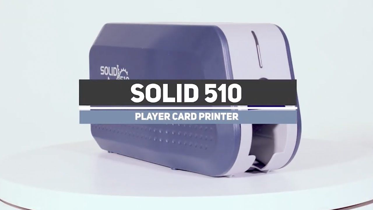 IDP Solid 510 OC - Printer Overview