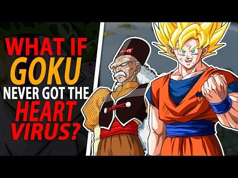 WHAT IF Goku didn't get the HEART VIRUS? - Dragon Ball Z