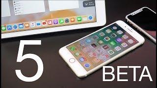 Apple iOS 11: Beta 5 Changes
