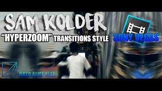 How to make Sam Kolder hyperzoom/smooth transitions style in Sony Vegas 2016