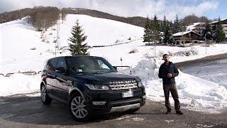 Range Rover Sport | La prova sulla neve degli Appennini