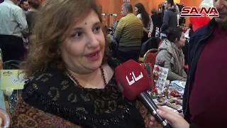 أربعون سيدة يشاركن في معرض الميلاد بحلب- فيديو