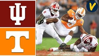 Indiana Vs Tennessee Highlights | 2020 Gator Bowl Highlights | College Football