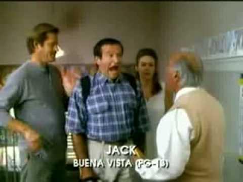 Video trailer för Jack 1996 trailer