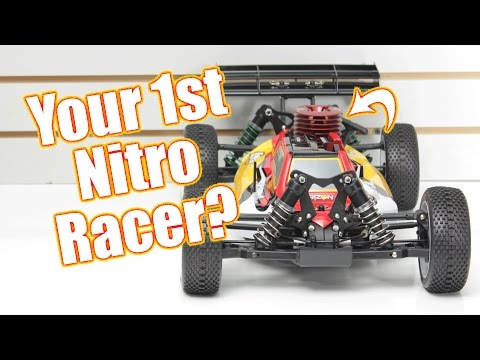 Your First Nitro Racing Buggy? – Losi 8IGHT Nitro RTR Unboxing