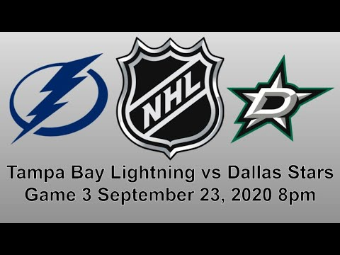 Tampa Bay Lightning vs Dallas Stars Game 3 Stanley Cup Finals Live Play by Play Reaction + Chat