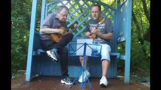 Album of Ukulele Duets with Tiny Mizen done - book of duets out Sept 2019