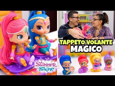 SHIMMER and SHINE: blind bags e TAPPETO VOLANTE MAGICO con dolls