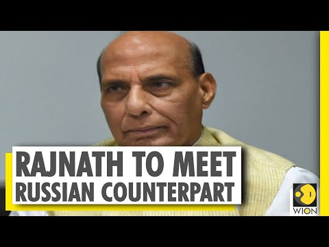 India's Defence Minister Rajnath Singh to leave for Russia