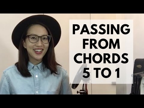 PASSING FROM CHORDS 5 TO 1 | Passing Chords Tips | Worship Keyboard Tutorial