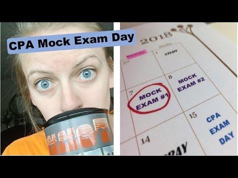 CPA Mock Exam Day - YouTube