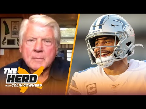 Jimmy Johnson weighs in on Dak's massive contract in Dallas, Cowboys expectations | NFL | THE HERD