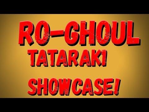 Roblox,Ro Ghoul! ShowCase Второй стадии ТАТАРЫ! ShowCase Two Stage Tatara's!