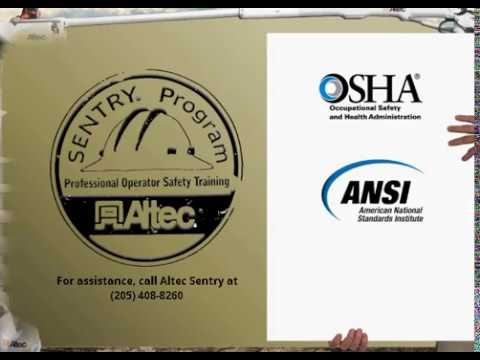 OSHA and ANSI Training Requirements for Aerials and Digger Derricks