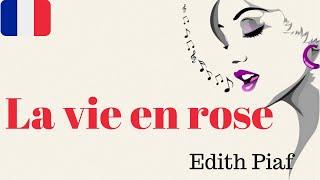 """APRENDE A CANTAR EN FRANCÉS: """"La vie en rose"""" Edith Piaf"""