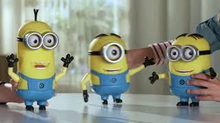 Despicable Me 3 - Talking Minion Action Figures