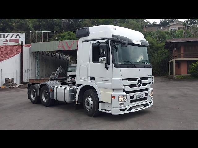 Vídeo do caminhão Actros 2646 6x4