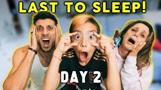Last To SLEEP Wins $10,000 CHALLENGE! | The Royalty Family