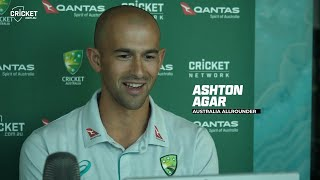 Agar brothers feel the love on first overseas tour | West Indies v Australia 2021