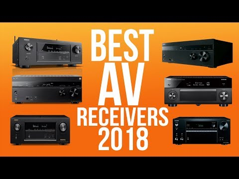 BEST AV RECEIVERS 2018 - TOP 10 BEST A/V RECEIVER 2018 | HOME THEATER